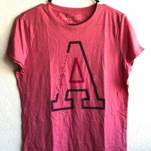 "Aeropostale Pink ""A"" T-Shirt"